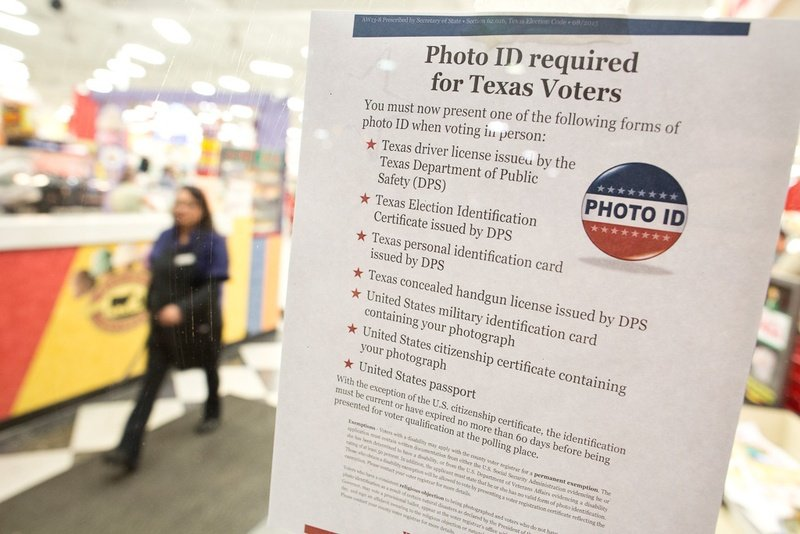 Supreme Court rejects Texas appeal over voter ID law