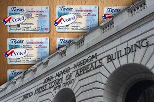 Texas voter ID law shut down
