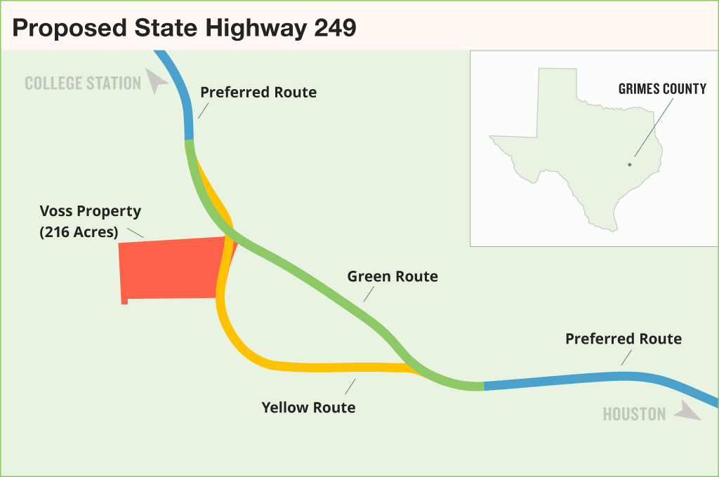 Toll Roads In Houston Map.Rural Landowners May Sue Txdot Over Toll Road Plan The Texas Tribune