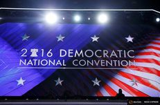 The Democratic National Convention in Philadelphia, Pennsylvania, U.S. July 25, 2016.