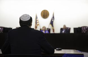 "Austin rabbi testified against burial and cremation rule, citing ""great potential"" of infringing on religious liberty, at the public hearing held by Texas Department of State Health Services on August 4, 2016."