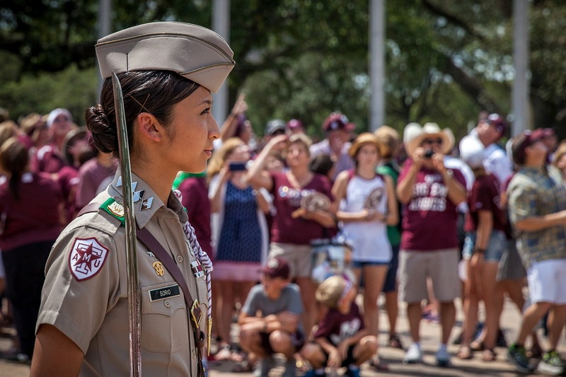 Less Screaming More Diversity Aggie Corps Reboots For