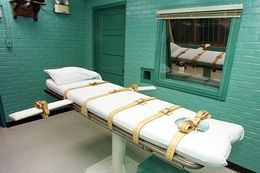 Texas' execution chamber in Huntsville.
