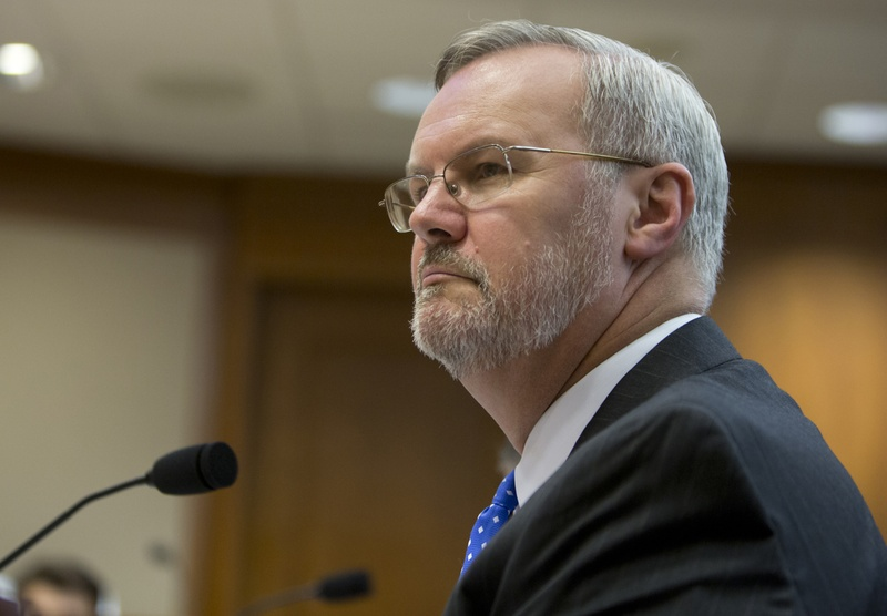 TxDot Director James Bass during a September 14, 2016 Senate Transportation Committee hearing