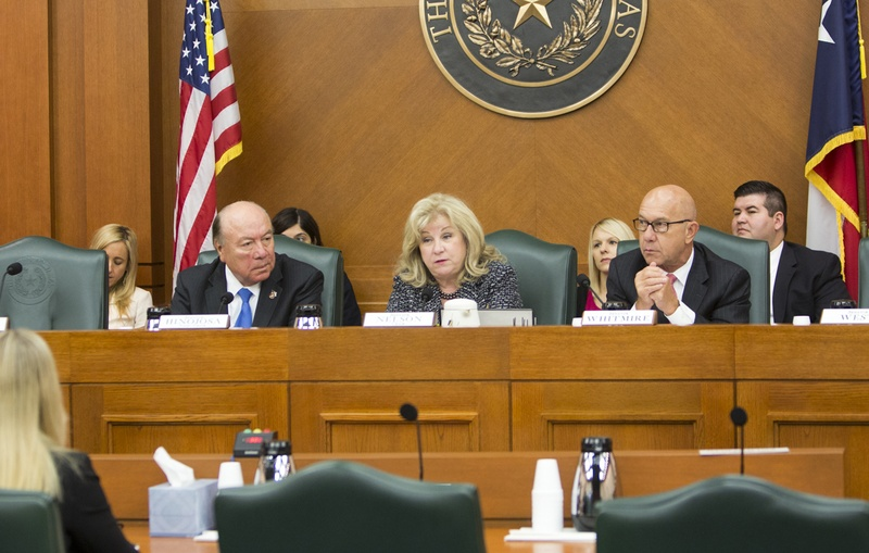 September 15, 2016 Senate Finance Committee hearing at the Texas Capitol