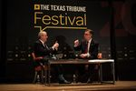 Ross Ramsey, executive editor of The Texas Tribune, interviewed Lt. Gov. Dan Patrick at The Texas Tribune Festival on Sept. 24, 2016.