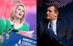 Radio talk show host and conservative political commentator Laura Ingraham and U.S. Sen. Ted Cruz, R-Texas.