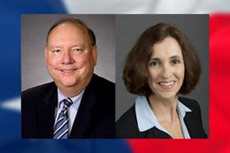 Republican incumbent Ken Mercer faces Democrat Rebecca Bell-Metereau in the State Board of Education, District 5 race.
