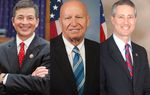 U.S. Reps. Jeb Hensarling, R-Dallas, Kevin Brady, R-The Woodlands, and R- Mac Thornberry, R-Clarendon.