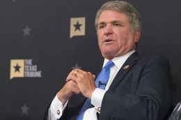 U.S. Rep. Michael McCaul at a Texas Tribune event in Austin on Oct. 25, 2016.