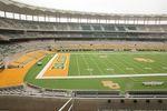 The inside of McLane Stadium at Baylor University