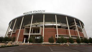 The exterior of McLane Stadium at Baylor University