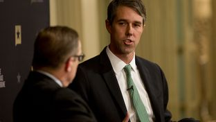 U.S. Rep. Beto O'Rourke, D-El Paso, was interviewed by Texas Tribune CEO Evan Smith on Nov. 4, 2016, in Austin.