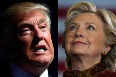 Donald Trump and Hillary Clinton.