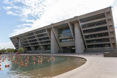 Dallas City Hall on October 24, 2016.