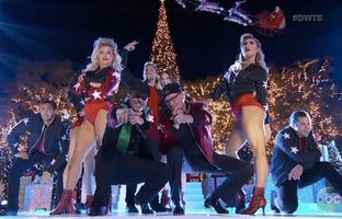"""Former Gov. Rick Perry returned to """"Dancing with the Stars"""" on Tuesday for an appearance on its season finale. Perry was eliminated from the ABC show in September."""
