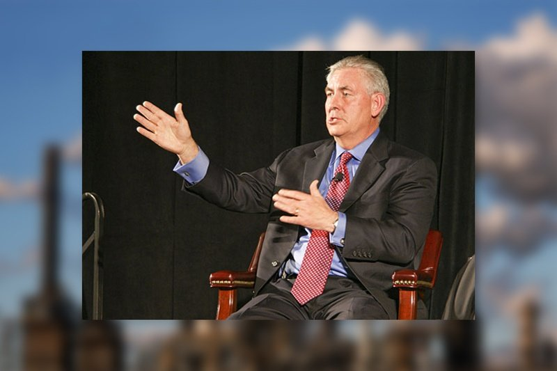 Rex Tillerson, chairman and chief executive officer of Exxon Mobil Corporation.