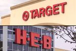 Target and HEB stores in Austin.