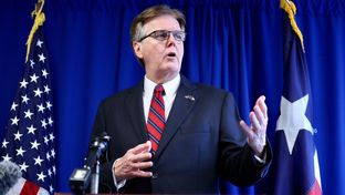 Lt. Gov. Dan Patrick held a press conference in Austin on Monday to announce he's running for re-election.