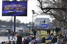 Preparations in Washington, D.C. are well underway as crowds already begin to gather for Saturday's inauguration.