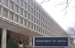 The Department of Energy building in Washington, D.C