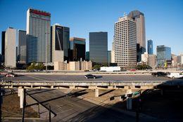 I-345 in Dallas, Texas on Jan. 28, 2017.