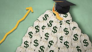 Tuition costs are rising in Texas as per-student state funding for higher education shrinks.