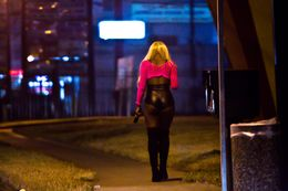 "Pimps send their victims to ""walk the track"" on a stretch of Bissonnet Street in Houston. Anti-trafficking efforts in Texas have focused more on putting pimps in prison than rehabilitating their prey."