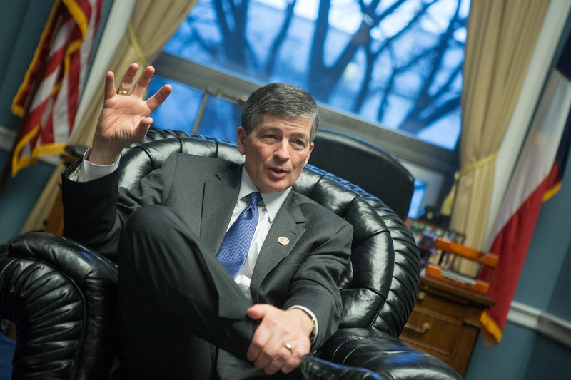 U.S. Rep. Jeb Hensarling, R- Dallas, in his office on Capitol Hill in Washington, D.C., on Feb. 13, 2017.