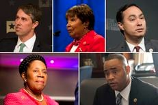 Clockwise from top left: U.S. Reps. Beto O'Rourke, D-El Paso, Eddie Bernice Johnson, D-Dallas, Joaquin Castro, D-San Antonio, Marc Veasey, D-Fort Worth and Sheila Jackson-Lee, D-Houston.