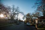 Homes on Garden Street in Austin on Feb. 24, 2017.