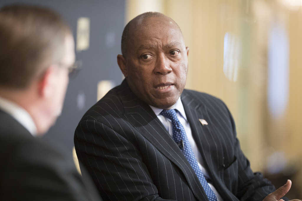 Mayor Sylvester Turner says that Texas lawmakers should be weary of hamstringing cities that he says are the economic engines of the state.