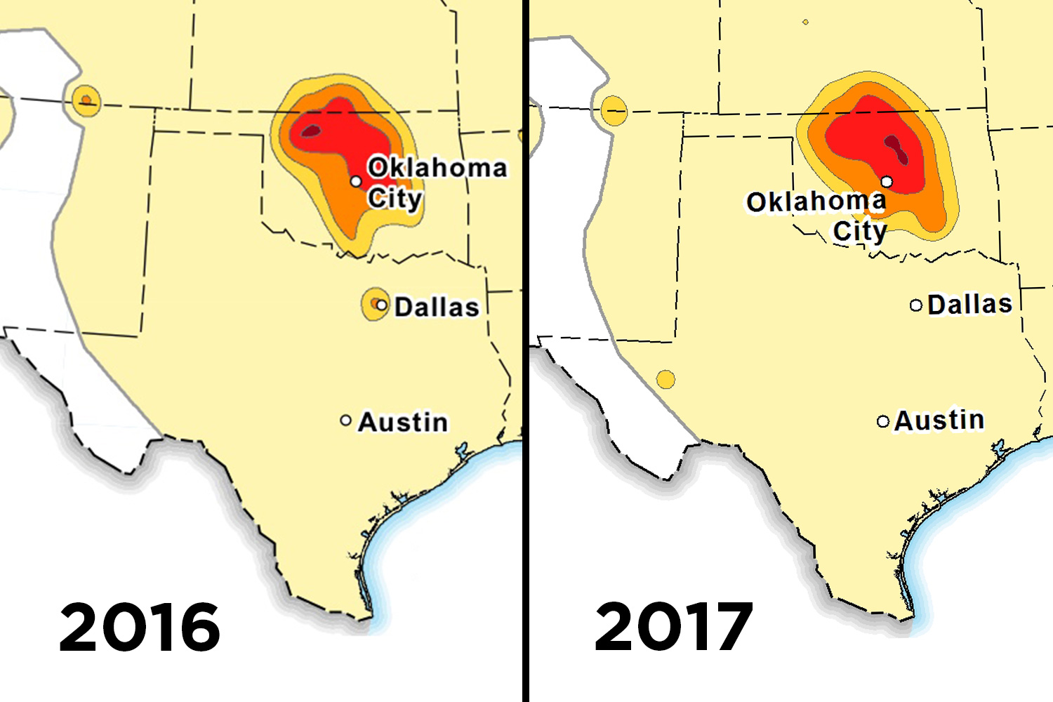 Expect Fewer Man Made Earthquakes In Texas Federal Agency Says