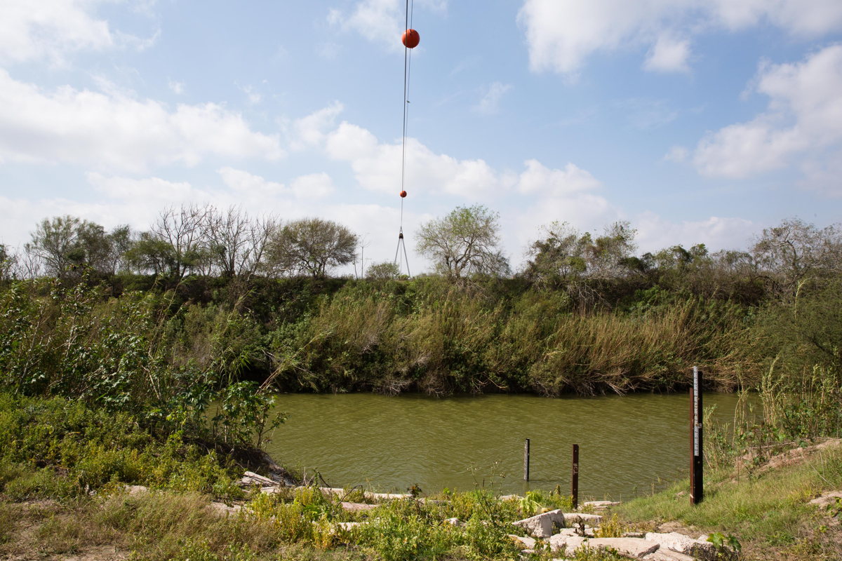 The Rio Grande River is less than a mile from Taylor's house. On a recent weekday, undercover Border Patrol agents said they were expecting people to cross at any moment.