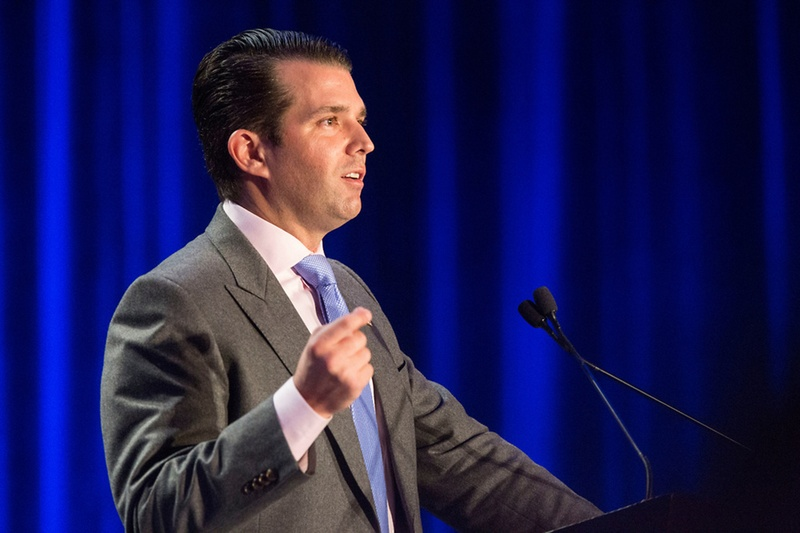 Donald Trump Jr assures 'zero contact' with father about business