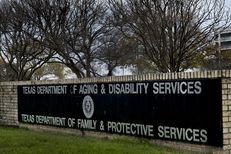 The Texas Department of Family and Protective Services building in Austin.