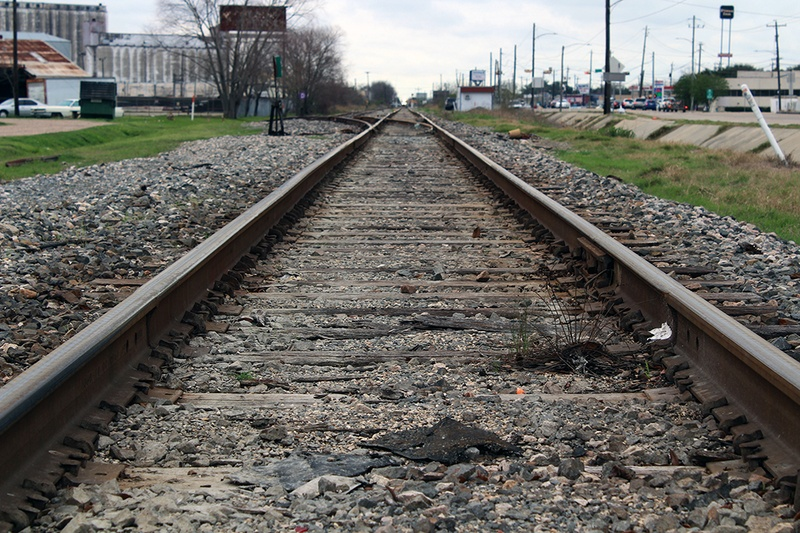 A high-speed Texas train is planned to run near railroad tracks along Hempstead Road in northwest Houston.