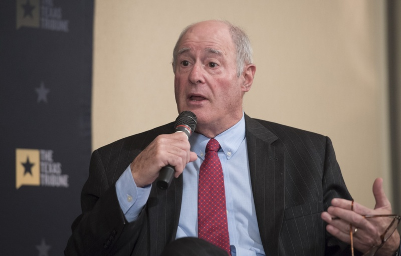 State Sen. Kel Seliger, R-Amarillo, discussed higher education issues during a Texas Tribune event on April 4, 2017. Seliger is chairman of the Senate Higher Education Committee.