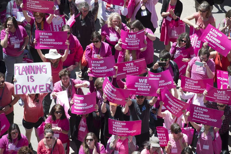 Abortion rights activists rally at Texas Capitol against restrictions