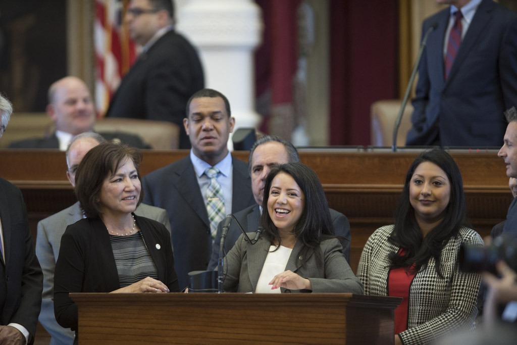 State Rep. Victoria Neave, D-Dallas, authored a House bill that would allow crowdfunding for rape kit testing in Texas.