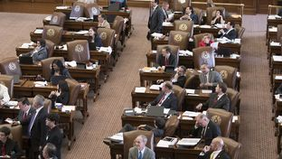 The Texas House of Representatives continues the budget debate into the late afternoon Thursday on April 6, 2017.