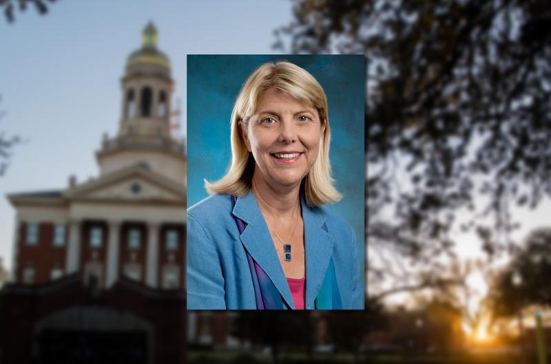 Linda A. Livingstone, the president of Baylor University.