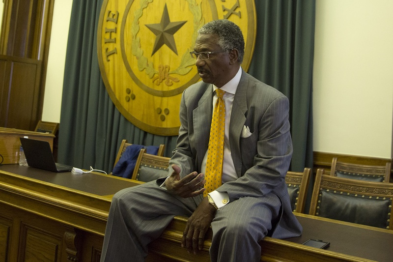 State Rep. Harold Dutton, D-Houston, in the Speaker's Committee Room at the Capitol on May 10, 2017.
