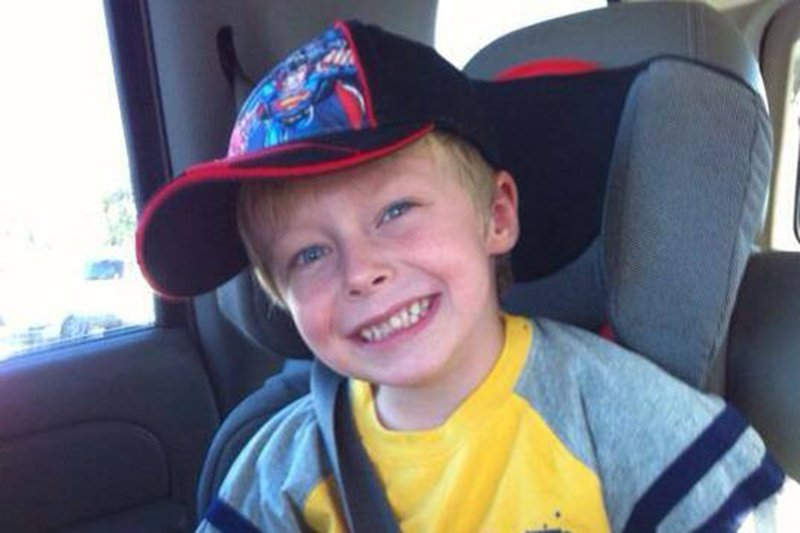 "Wyatt McDaniel died in an accident while playing in a sand pile with his little brother on Jan. 25, 2013. His mother, Lara McDaniel, was not able to view his body until after his autopsy and is advocating for Texas lawmakers to adopt ""Wyatt's Law."""