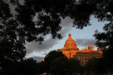 The Texas Capitol at sunset on May 23, 2017.