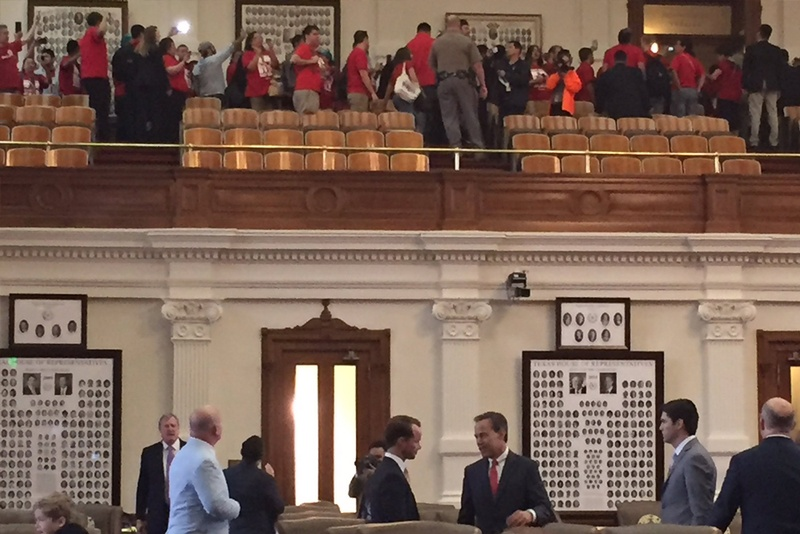 Texas Dem denies threatening colleague on legislature floor