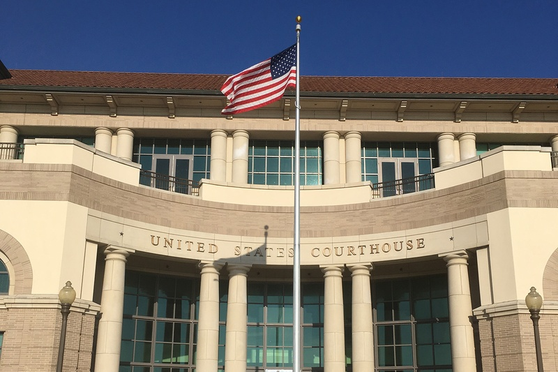 The United States District & Bankruptcy Court in Corpus Christi.