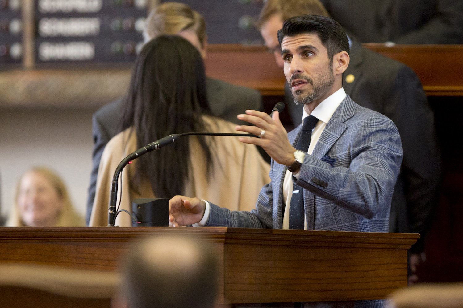 State Rep. Eddie Lucio III, D-Brownsville, was one of the co-authors of a measure that would've expanded the use of medicinal marijuana. Despite bipartisan support, the bill never made it to the House floor for a vote.