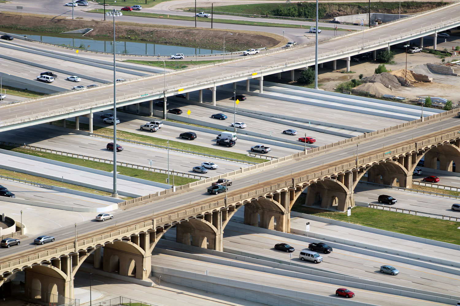 North Texas officials once said that the downtown highway interchange called the Mixmaster couldn't be rebuilt unless Trinity Parkway was constructed. The rebuild is almost done and Trinity Parkway may never come to be.
