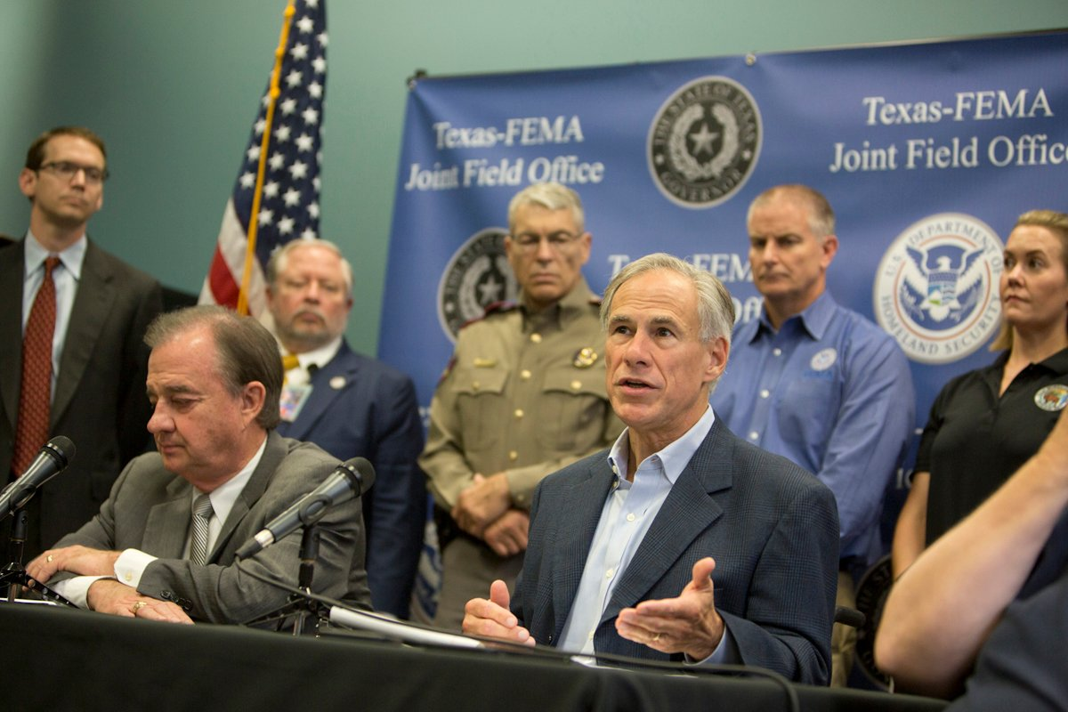 Gov. Greg Abbott announced that the state's General Land Office would oversee short-term housing needs almost three weeks after Hurricane Harvey. Abbott told the state agency about the plan one day before the announcement.